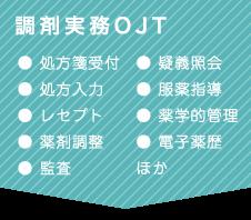 調剤実務OJT